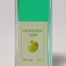 Grüner Apfel Likör 容量:200ml, 350ml アルコール度数:18% エキス分:16%未満 表皮の色が反映された鮮やかな色彩と爽やかな酸味が秀逸