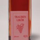Trauben rot Likör 容量:200ml, 350ml アルコール度数:25% エキス分:24%未満 果実味豊かなドルンフェルダーを使用の希少なグレープリケール
