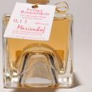 Paradiso Rosen Likör 容量:100ml アルコール度数:20% エキス分:26%未満 順に重ねられるデザインのボトルに人気のバラのリケール