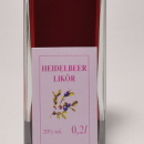 Heidelbeer Likör 容量:200ml, 350ml アルコール度数:20% エキス分:20%未満 野性的な印象とのちに広がる華やかさの複雑感