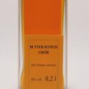 Butter-scotch Likör 容量:200ml, 350ml アルコール度数:18% エキス分:28%未満 スコッチウイスキーとナッツ類の永い余韻はマニュファクチュールそのもの