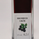 Brombeer Likör 容量:200ml, 350ml アルコール度数:22% エキス分:21%未満 ひきしまった酸味とタンニン、が男性的なベリー系リケール