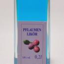 Pflaumen Blau Likör 容量:200ml, 350ml アルコール度数:18% エキス分:11%未満 プラムリケールから色素脱却によりブルー色に。柔らかい酸味。