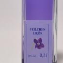 Veilchen Likör 容量:200ml, 350ml アルコール度数:18% エキス分:12%未満 においすみれだけを蒸溜した目にも美しく香りの華やかな天然紫色のリケール