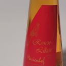 Rosen Likör 容量:100ml アルコール度数:20% エキス分:26%未満 美しいフラスコボトルに人気のバラのリケールが詰められて